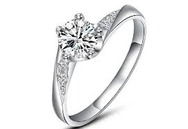silver diamond rings fashion women s diamond ring 925 silver diamond rings engagement