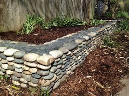 Rock Borders For Gardens River Rock Garden Border Garden Bliss Pinterest Rock Garden