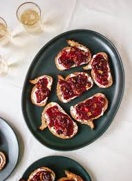 cranberry crostini cookie and kate