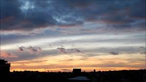 Color Of Earth by Sky Changing Colors Near The Sunset Youtube