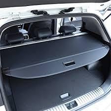Kia Cargo Vesul Black Retractable Rear Trunk Cargo Luggage