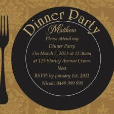 dinner party invitations dazzling dinner party invitations with black border colors and