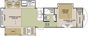 Rv Floor Plan Forest River Silverback Fifth Wheels