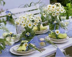 Summer Garden Ideas - garden table decor u2013 home design and decorating