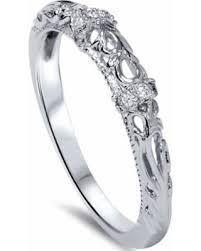 filigree wedding band spectacular deal on 06ct vintage diamond wedding band 950