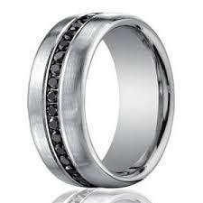 eternity wedding 7 5mm men s 950 platinum black diamond eternity wedding band