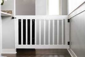 Baby Safety Gates For Stairs Diy Baby Gate The Love Notes Blog