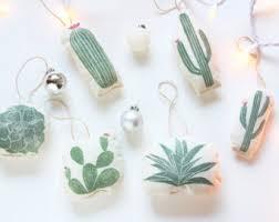 cactus ornaments handmade ornaments