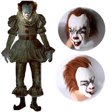 Scary Clown Halloween Costumes Cheap Scary Clown Costume Aliexpress