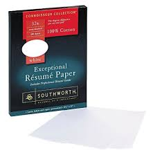 southworth cotton resume paper white target