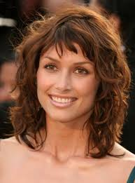 shoulder length haircut curly hair hairstyles and haircuts