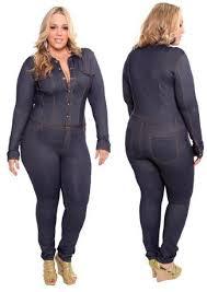 Jeans Jumpsuit For Womens Women Plus Size Urban Clothing For Women U003e Dereon U003e Jumpsuits