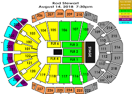 Pepsi Center Seating Map Seating Charts Sprint Center