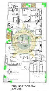 house plan layouts 1 kanal house plans civil engineers pk