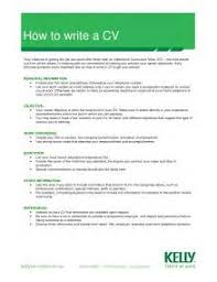 Sample Job Resume by Writing Cv First Job