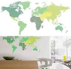 world map with country names contemporary wall decal sticker map wall decals posters at allposters