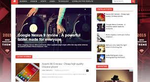 free blogger templates 2016 top beautiful responsive blog themes