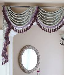 Swag Valances For Windows Designs 23 Best Swag Pole Images On Pinterest Window Coverings