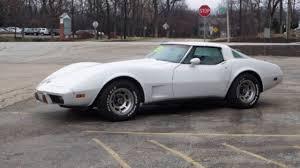 1978 white corvette 1978 anniversary car corvette stingray 350 automatic white for