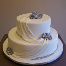 beautiful 25th wedding anniversary cake gingerbread wedding cake