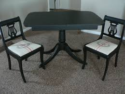 Duncan Phyfe Dining Room Set by For The Love Of It Duncan Phyfe Table And Lyre Back Chairs