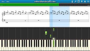 coldplay clocks piano tutorial with sheet how to play