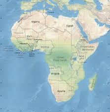 World Map Africa by Image Map Africa Jpg Shadowrun Wiki Fandom Powered By Wikia