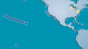 Camping World Locations Map by Visit Your Sanctuary Noaa National Marine Sanctuaries