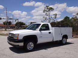 2003 chevrolet silverado 2500hd service utility body truck regular