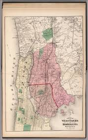 Westchester County Map Towns Of West Farms And Morrisania Westchester County New York