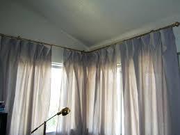 Curtain Rods Target Corner Curtain Rod Corner Curtain Rods For Windows Corner Curtain
