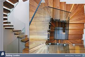 floating staircase railing contemporary floating stairs lighting