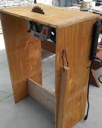 convert circular saw to table saw homemade table saw youtube tool tips pinterest scie