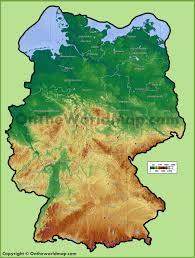 map germay political map of germany size prepossessing garmany ambear me