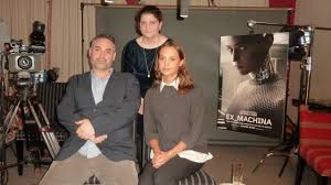 alex garland and alicia vikander talk ex machina youtube