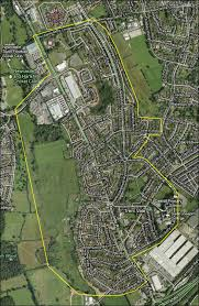 map of newcastle lyme trent vale stoke on trent