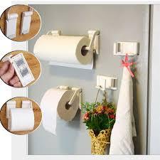 paper holder 2pcs removable plastic magnetic toilet paper holder adjustable towel