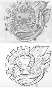 sand clock tattoo designs time flies by srtaquesadilla designs interfaces tattoo design 2009