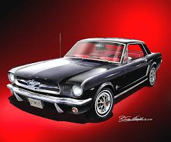 65 mustang accessories 1965 1966 mustang prints posters by danny whitfield