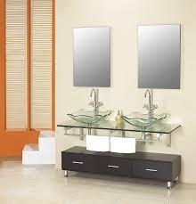 Glass Bathroom Sinks And Vanities Glass Bathroom Sinks And Vanities Uk Enhancing The Bathroom With