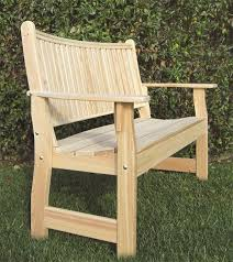 Cypress Adirondack Chairs Amish Cypress Outdoor English Garden Bench