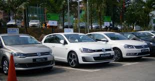 volkswagen malaysia file volkswagen test drive cars left to right polo sedan golf