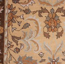 Rug 5x8 Royal Beige Brown Gold Grey Ivory Traditional Hand Tufted Wool