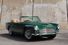 green aston martin convertible classic 1962 aston martin db4 c series iv ss vantage cabriolet