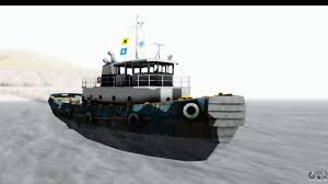 Tug Maps Gta 5 Buckingham Tug Boat V1 Ivf For Gta San Andreas