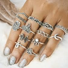 knuckle rings images 13pcs vintage knuckle rings universal hobo jpg