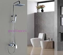 modern shower faucet set 8 square shower with bath tub