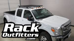 Ford F250 Truck Tent - ford f350 crew cab with rhino rack pioneer tray roof rack system