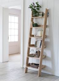 hambledon shelf ladder small raw oak garden trading