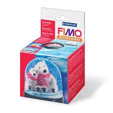 Fimo Meme - boule à neige fimo à personnaliser et à customiser soi même 90x7